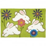 Jellybean Hippity Hoppity Outdoor Door Mat