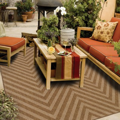 Brown Outdoor Rugs