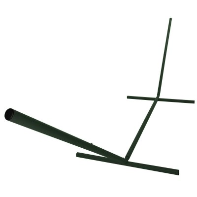 15 ft. Compactable Metal Hammock Stand - Forest Green