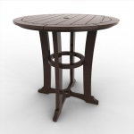 36 in Round Laguna Counter Height Table