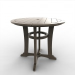 36 in Round Laguna Dining Table