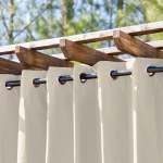 Linen Extra Wide Outdoor Curtain