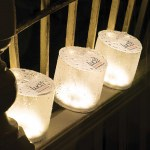 Luci Lux Waterproof Solar Inflatable LED Lantern in Frosted Finish