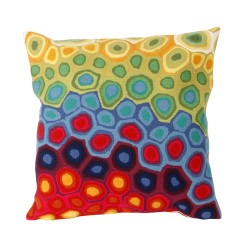Multicolor Outdoor Pillow