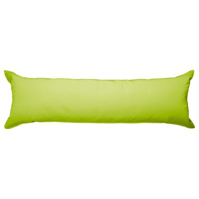 52 Inch Long Hammock Pillow with Polyester Filling - Macaw Green