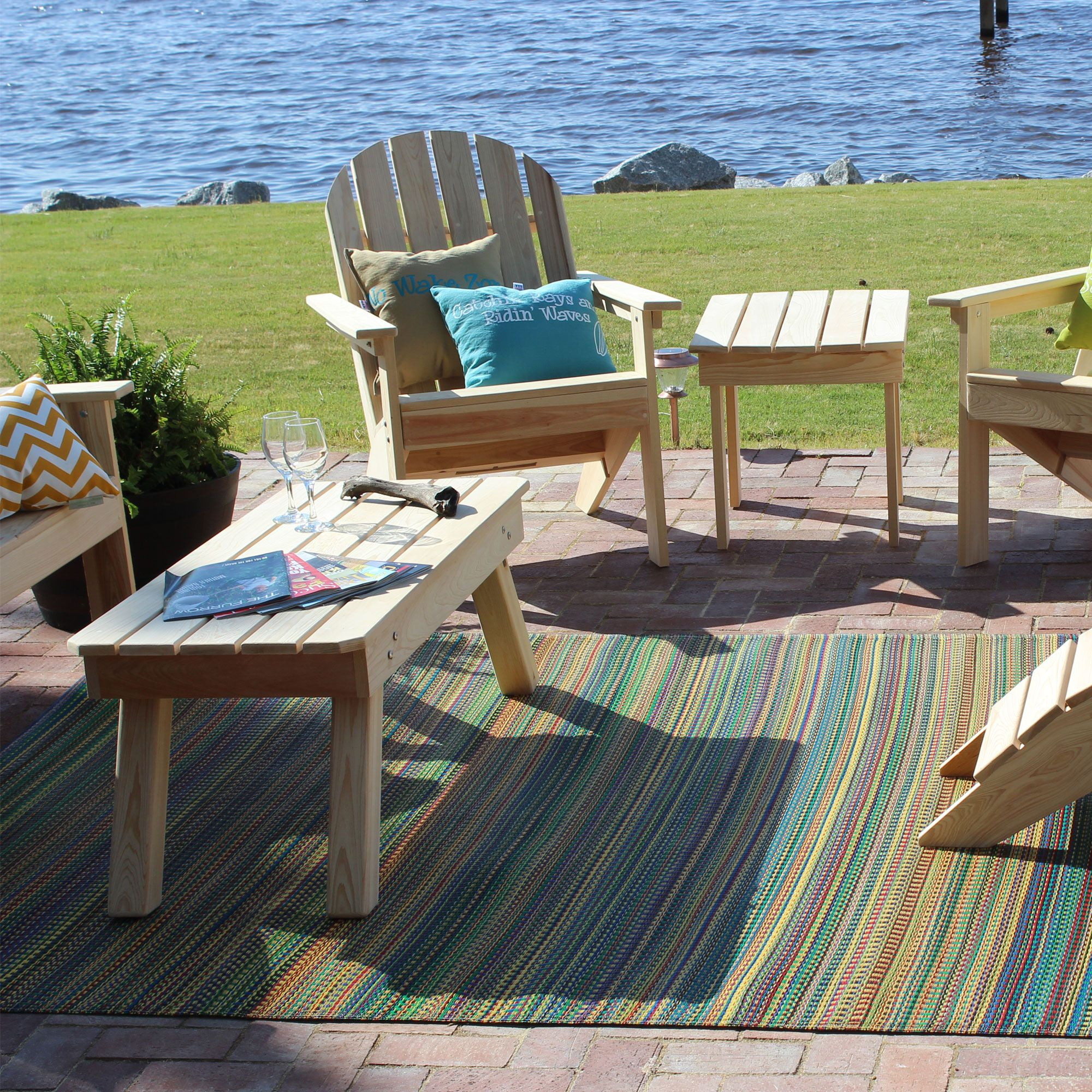mats uk madmatslifestyle rainbow smsender outdoor patio tulum rugs xx co