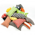 Yellow Coral Small Outdoor Pillow