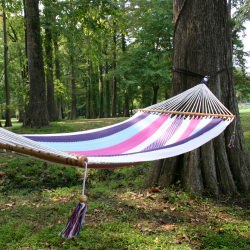 Deluxe Mayan Hammock with Spreader - Pastel