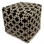 Black Links Small Outdoor Cube