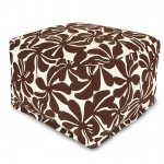 Chocolate Plantation Large Outdoor Ottoman
