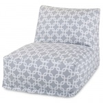 Grey Links Outdoor Bean Bag Chair