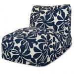 Navy Plantation Outdoor Bean Bag Chair