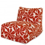 Red Plantation Outdoor Bean Bag Chair