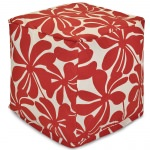 Red Plantation Small Outdoor Cube