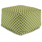 Sage Bamboo Large Outdoor Ottoman