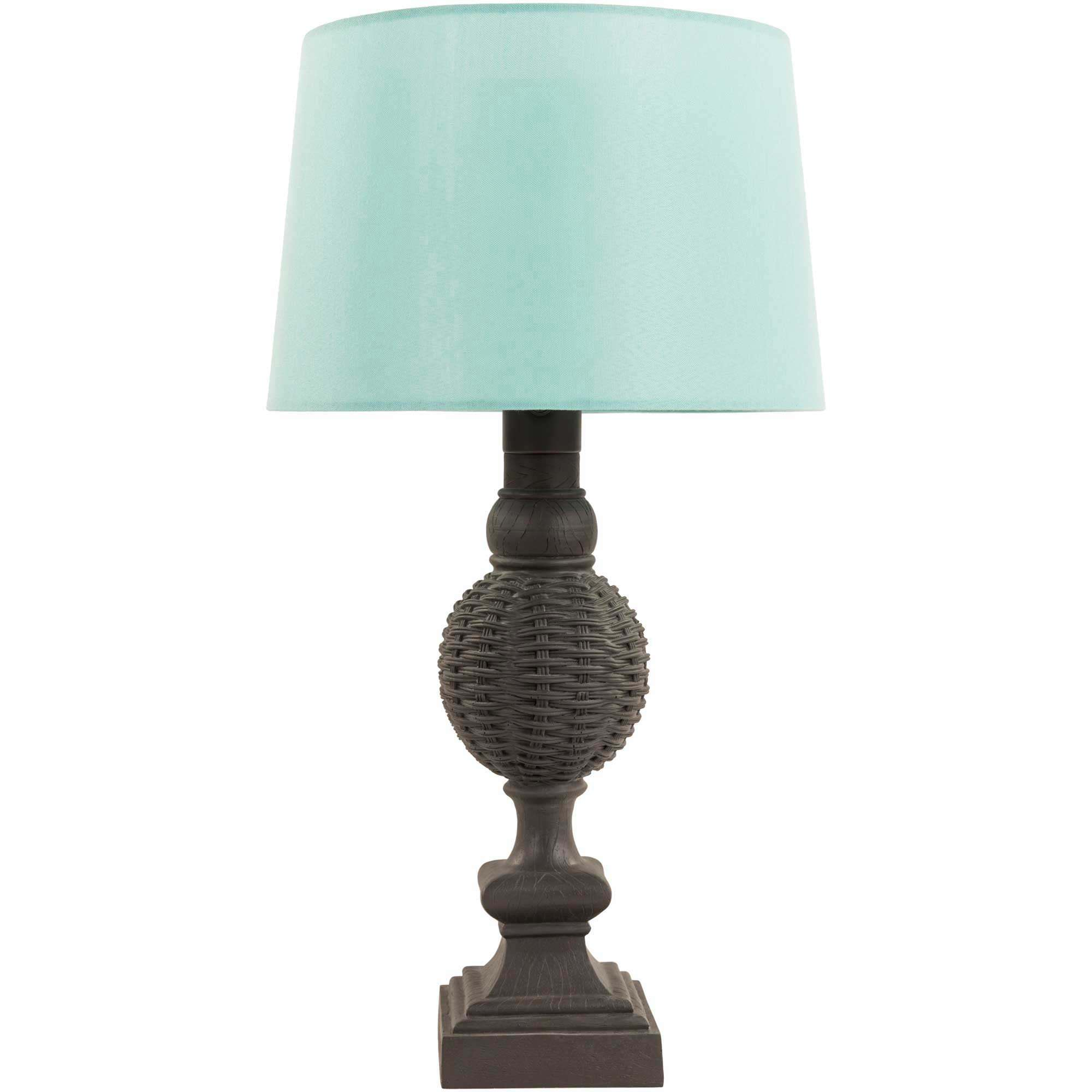 Miller Table Lamp Aqua 32 In Tall