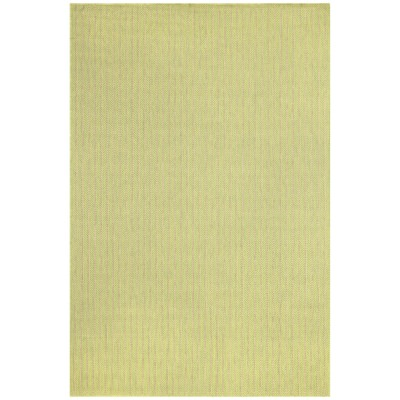 Monterey Lime Texture Stripe Outdoor Rug