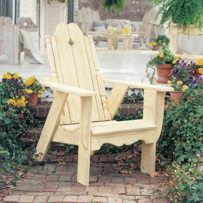 Nantucker Collection Adirondack Chair - Pine -