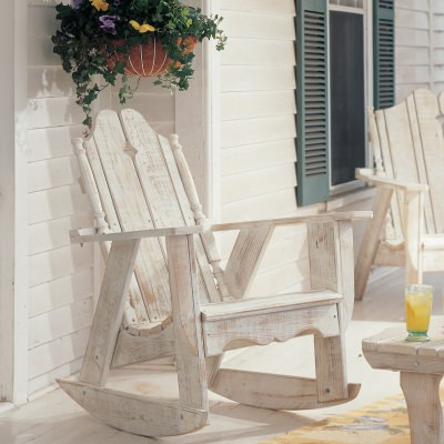 Nantucket Collection Adirondack Rocker - Pine 28 Colors -