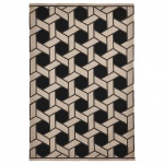 Napoli Basket Indoor/Outdoor Rug Black