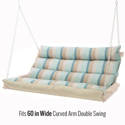 48 Inch Replacement Cushion for 60 Inch Cushioned Double Swing