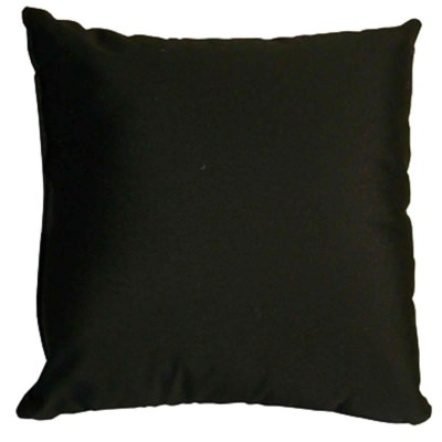 Black Outdoor Pillows