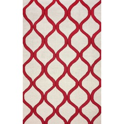 Wine Shelly Outdoor Rug