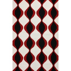 Black Phyllis Outdoor Rug