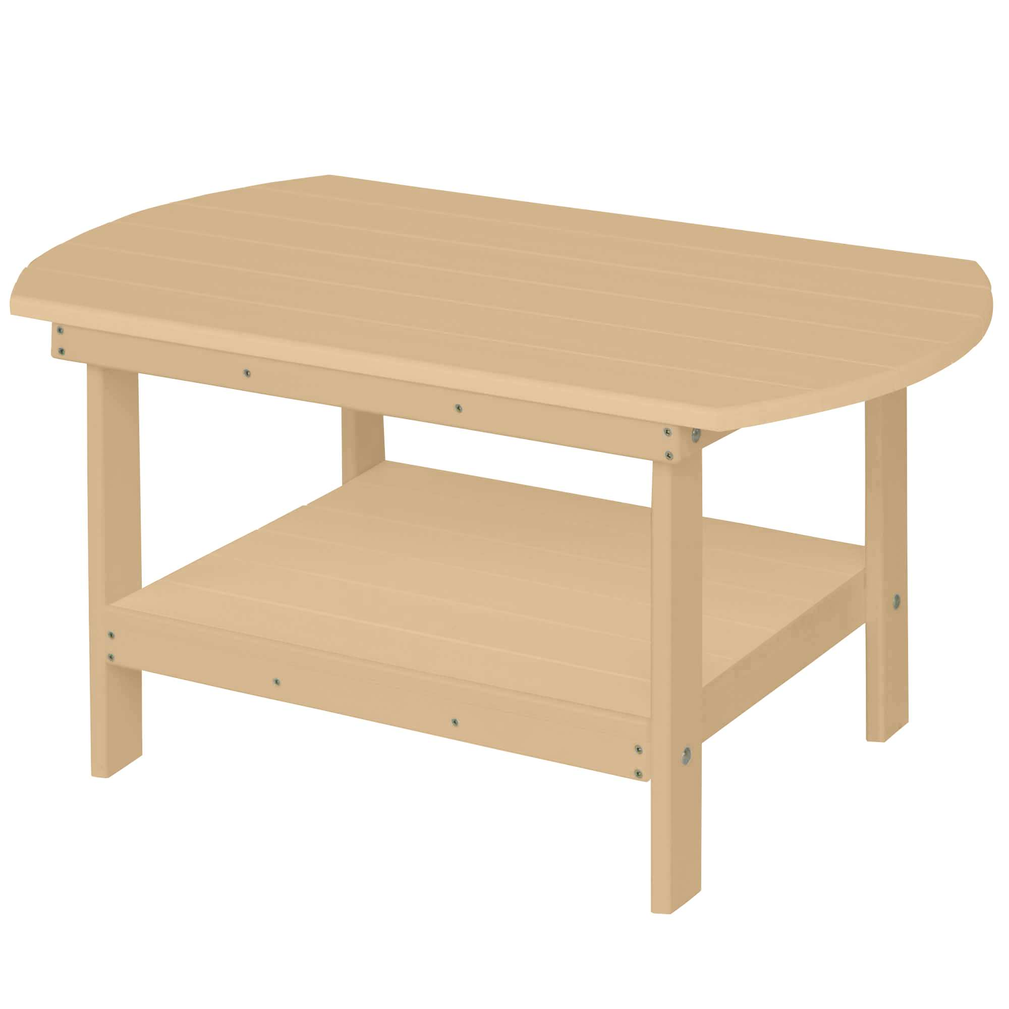 Oblong Coffee Table Weatherwood Discontinued