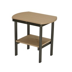 Oblong End Table - 22 in high available in 18 colors