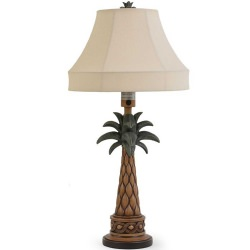 Palm Tree Outdoor Table Lamp
