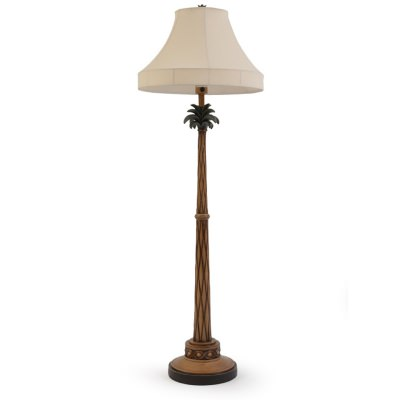 Palm Tree Outdoor Floor Lamp