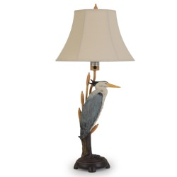 Island Way 35 Inch Heron Outdoor Table Lamp