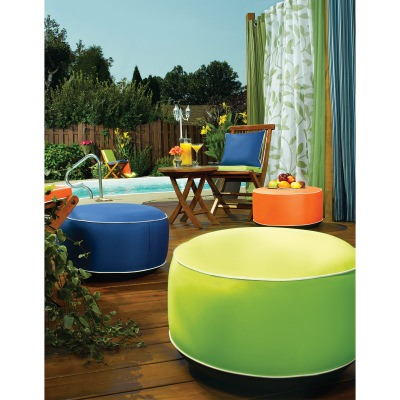 Splash n Dash Inflatable Outdoor Pouf