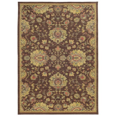 Tommy Bahama Cabana Brown and Beige Oriental Rug