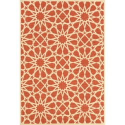 Brick Outdoor Evelyn Rug