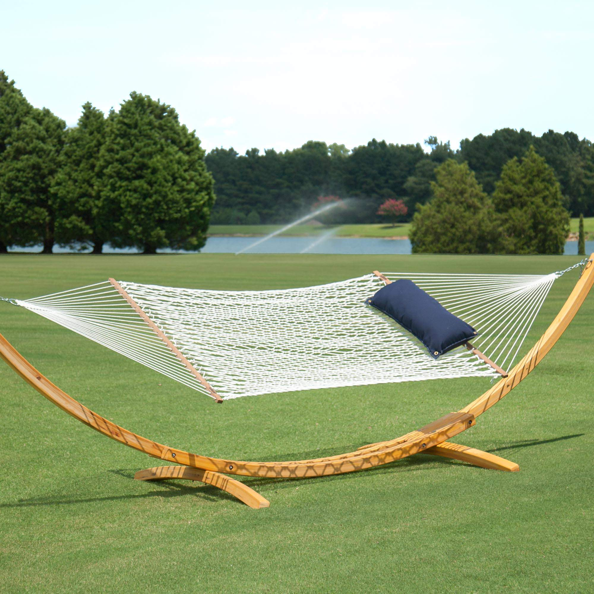 sunbrella tufted large hammock hammocks hatteras lagoon xx bevel