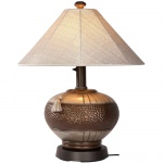 PLC Phoenix Bronze Outdoor Table Lamp