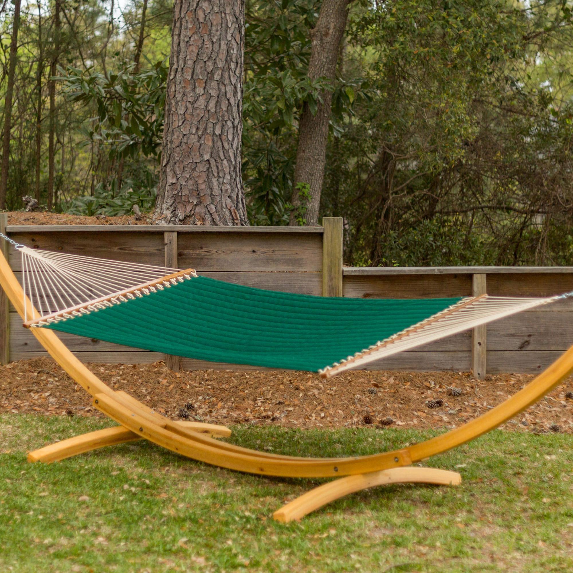 by small single original pawleys dfohome island xx arc hammock polyester on rope stand