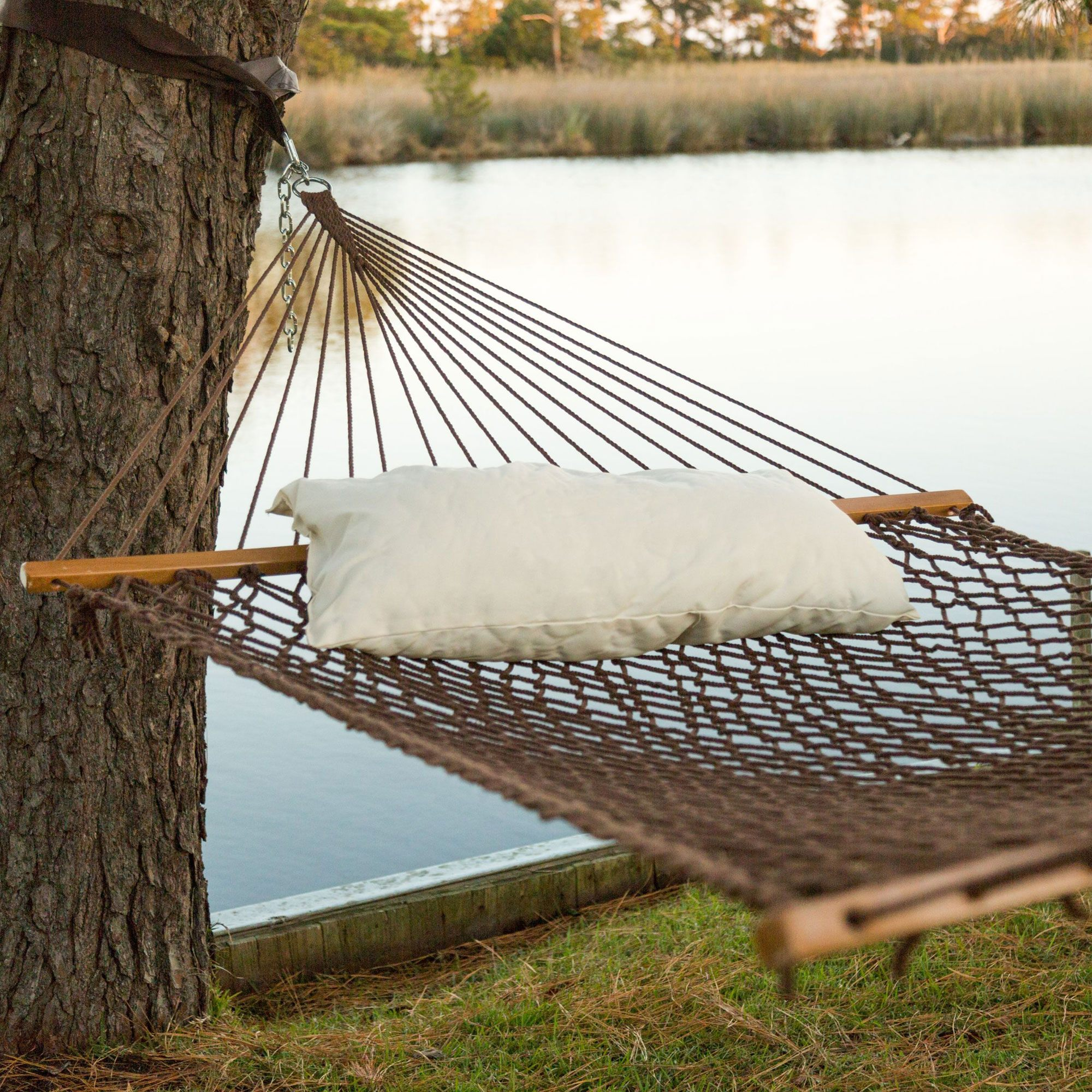 garden chairs home cotton from white leisure swing in macrame new bed item hammock rope hanging on outdoor cords