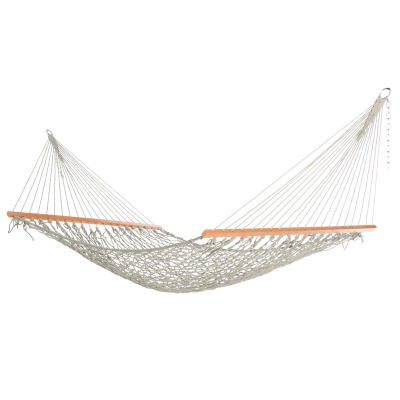Single Gray Weathersmart Rope Hammock