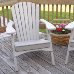 Folding Adirondack Chair - 11 Colors