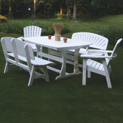 Rectangular Dining Height Table - 56x42x29 in