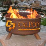 Patina Products Natural Rust Cal Poly San Luis Obispo Fire Pit