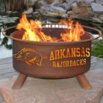 Patina Products Natural Rust Arkansas Fire Pit