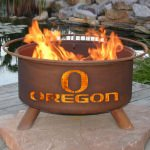 Patina Products Natural Rust Oregon Fire Pit