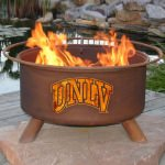 Patina Products Natural Rust UNLV Fire Pit
