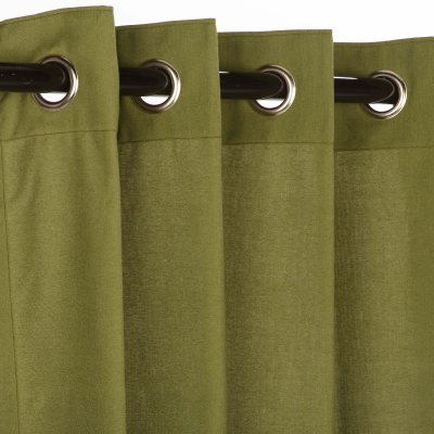 Sunbrella Canvas Turf Curtain with Nickle Grommets 50 in. by 84 in.