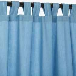 Sunbrella Spectrum Sailor Outdoor Curtain with Tabs