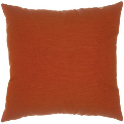 Canvas Brick Sunbrella Designer Porch Pillow